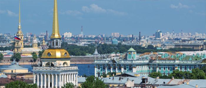 Stadt St Petersburg in Russland