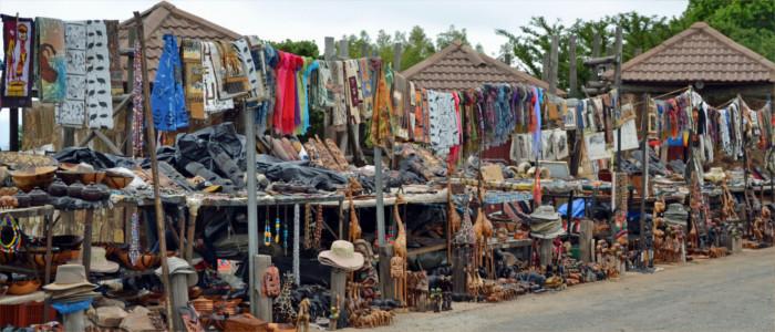 Markt in Sambia