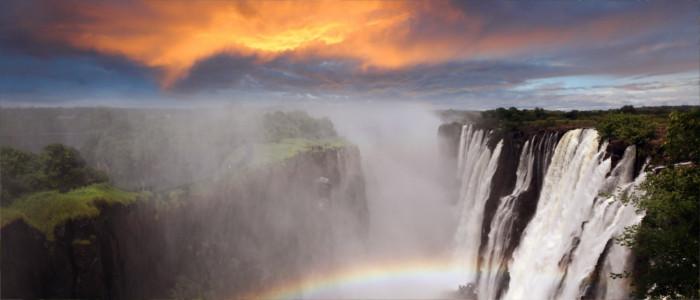 Victoria Wasserfälle in Sambia