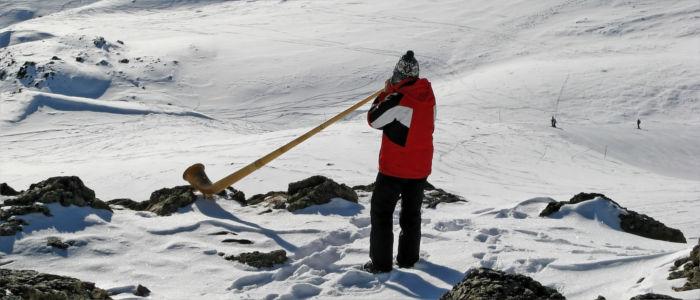 Horn spielen in der Schweiz