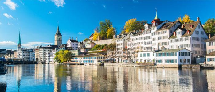 Limmat in Zürich, Schweiz