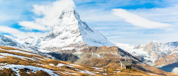 Der Matterhorn in der Schweiz