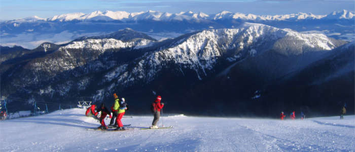 Wintersport in der Slowakei