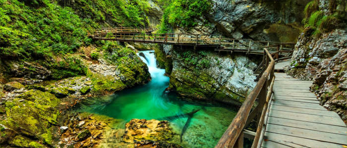 Triglav Nationalpark in Slowenien