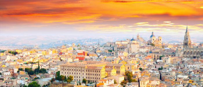 Toledo in Kastilien La Mancha in Spanien