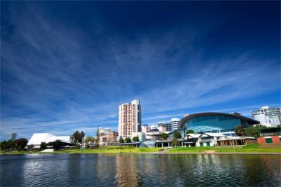 Adelaide am Gulf Saint Vincent