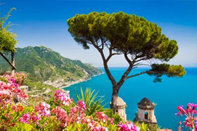 Ausblick auf die Amalfiküste