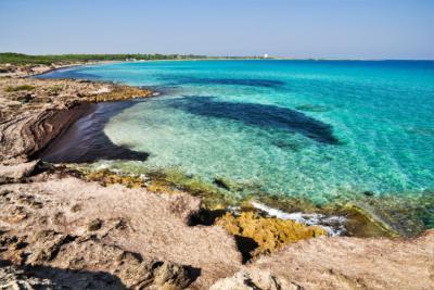 Küste von Apulien