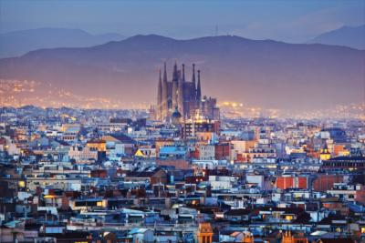 Berühmte Kirche in Barcelona