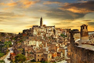 Antike Stadtt in Basilikata