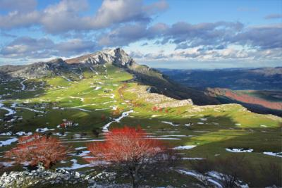 Berge im Baskenland