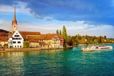 Stadt in der Bodenseeregion