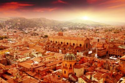 Ausblick auf Bologna