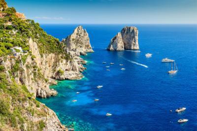 Felsen bei Capri