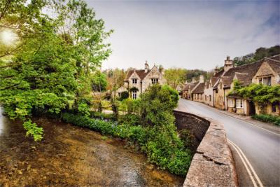 Die Cotswolds in England
