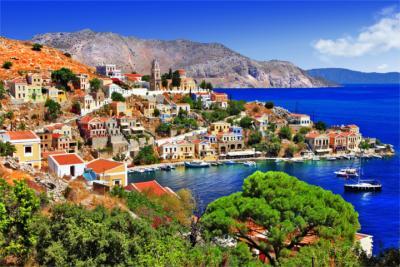 Die Insel Symi in den Dodekanes