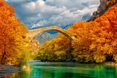 Steinbrücke im Epirus