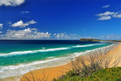 Strandlandschaft der Fraser Coast