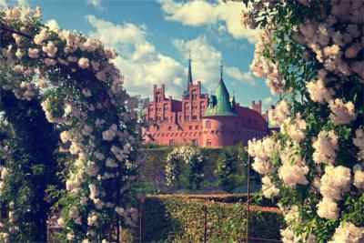 Berühmtes Schloss in Dänemark