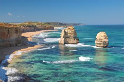 Berühmte Felsen an der Great Ocean Road
