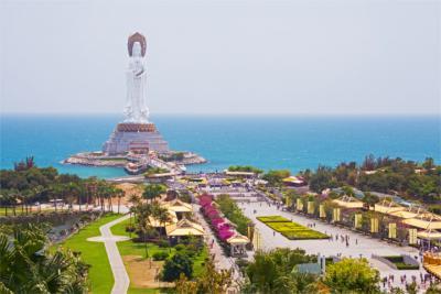 Monument auf Hainan