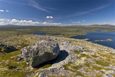 Natürliche Landschaft in Hedmark