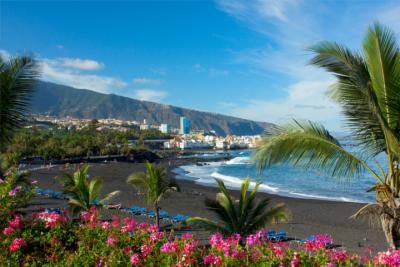 Strand Playa Jardín auf Teneriffa