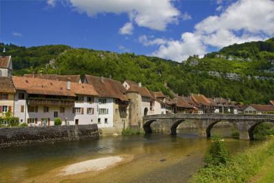 Dorf Saint-Ursanne
