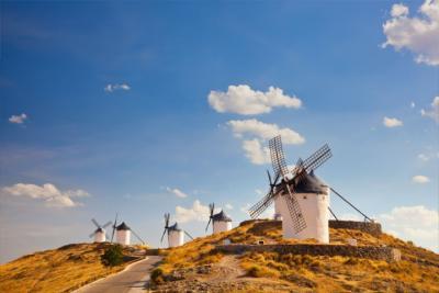 Windmühlen in Kastilien-La Mancha