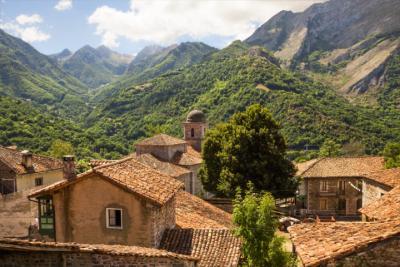 Bergdorf im Nationalpark Picos de Europa