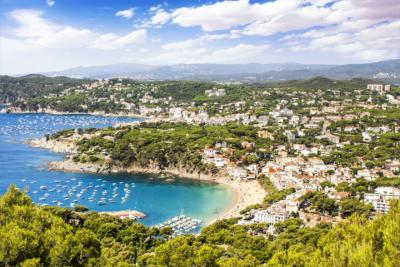 Küste Kataloniens