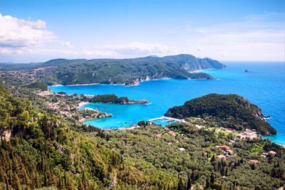 Korfu im Ionischen Meer