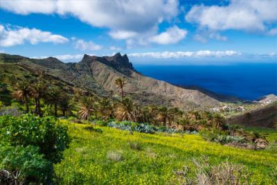 Ort Alojera auf der kanarischen Insel La Gomera