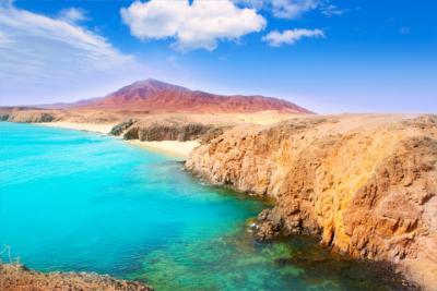 Vulkanlandschaft von Lanzarote