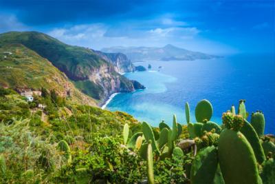 Landschaft Liparische Insel