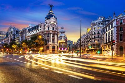Nachtleben von Madrid