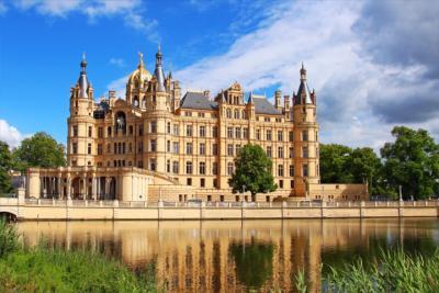 Wasserschloss in Schwerin
