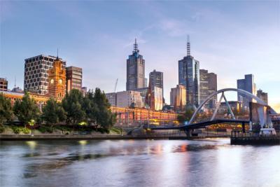 Panorama von Melbourne
