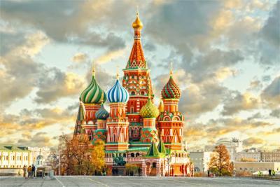 Kathedrale in der russischen Hauptstadt