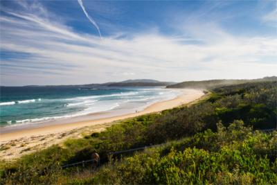 Badeort an der Ostküste Australiens