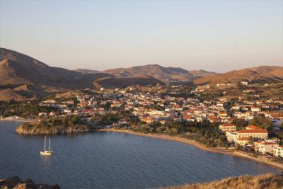 Blick auf die Insel Limnos