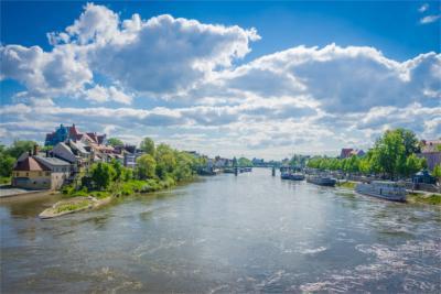 Die Donau in der Oberpfalz