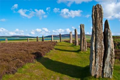 Steinkreis auf Orkney