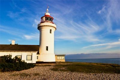 Leuchtturm in Ostjütland