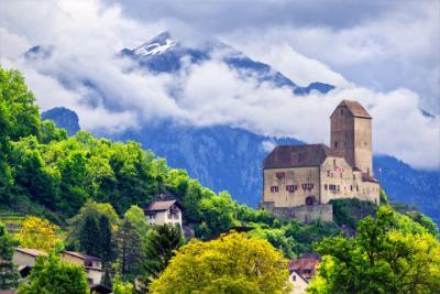 St. Gallen in der Ostschweiz