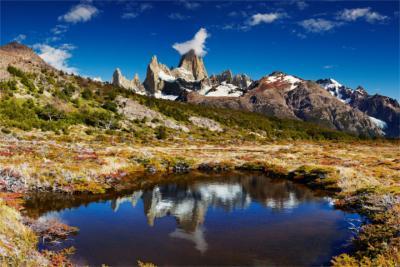 Berge Patagoniens