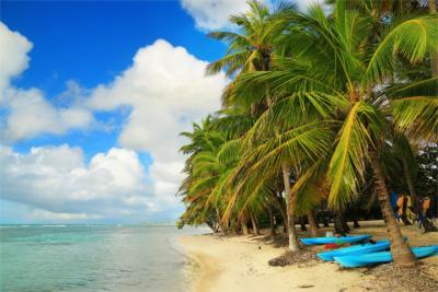 Guadeloupe in der Karibik