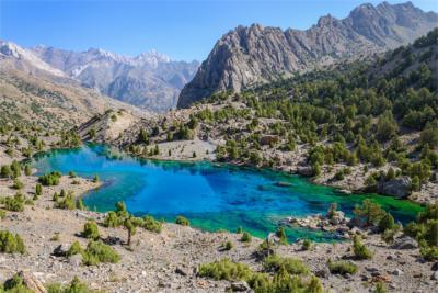 Landschaft in Tadschikistan