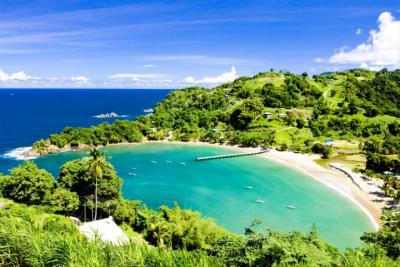 Bucht in Trinidad und Tobago