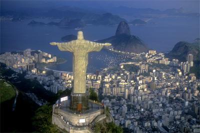 Rio de Janeiro Landschaftspanorama